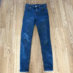 TopShop Medium Wash Jamie Jeans